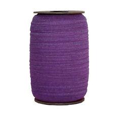 100 Yard Spool - Fold Over Elastic - Royal Purple - 5/8in Wide - FOE
