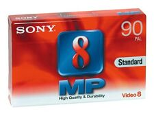 X 9 Sony 8 MP Video Camcorder Tapes 90 PAL P5 - 90mp3