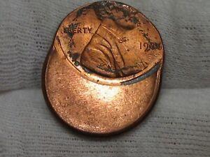 Error: 1986 Lincoln Penny Off-center.  #8