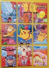 Topps Pokemon Series 2Picture Puzzle ClingChase Cards Complete Set all 10.Mint