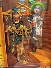 MONSTER HIGH 2017 SDCC COMIC CON CLEO DE NILE & GHOULIA YELPS 2 DOLL SET HTF