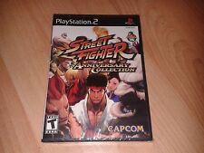 STREET FIGHTER ANNIVERSARIO COLLEZIONE NTSC USA US Playstation 2 PS2 importare nuovi
