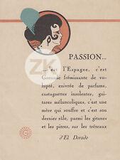 EL DORADO Marcel L'HERBIER Espagne GAUMONT Ena BEAUMONT Carton d'invitation 1921