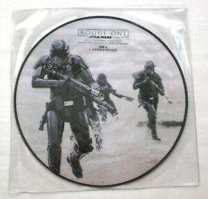 """STAR WARS Rogue One 10"""" Picture Disc Vinyl OST Michael Giacchino Imperial Suite"""