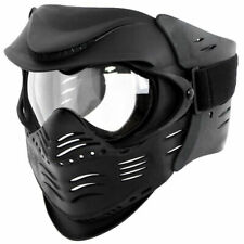 MFH Fight Face Protector Paintball Airsoft Outdoor Sports Full Black