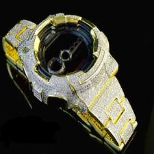 Authentic G-Shock G Shock Custom Men's Simulated White Diamond Watch GD-100 New