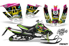 Arctic Cat Sno Pro Race Sled Wrap Snowmobile Decal Graphic Kit 08-11 FRENZY YLLW
