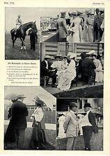 Pferderennen Baden-Baden Macdonald Sieger Fürstenberg Memorial Prinzessin...1904