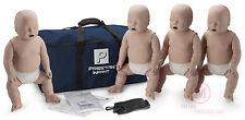 4-Pack Prestan INFANT CPR Manikins, Med Tone PP-IM-400-MS CPR training mannequin