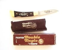 IMPERIAL FRONTIER DOUBLE EAGLE 4715  LOCKBACK CHEVROLET GIFT KNIFE
