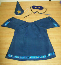 """WIZARD MAGICIAN HALLOWEEN COSTUME only ROBE HAT MASK for 16"""" CPK Cabbage Patch"""