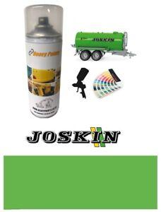 Joskin Spreader Green Paint High Endurance Enamel Paint 400ml Aerosol