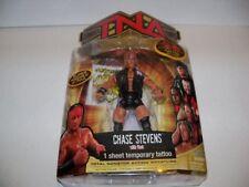"""NEW WWE/TNA IMPACT 2007 MARVEL TOYS """"CHASE STEVENS"""" WRESTLING FIGURE [MOC]"""