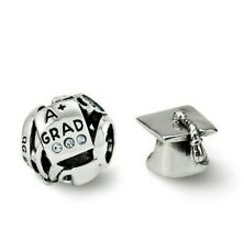 Reflection Beads Graduation Boxed Bead Set Sterling Silver New