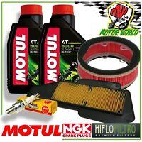 Oil Replacemenet Kit MOTUL 5000 + Filters Plug Yamaha XC R majesty S 125 2015