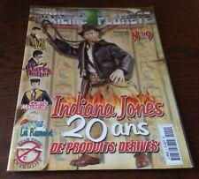 DIXIEME PLANETE N°9  / DOSSIER INDIANA JONES .FIGURINES..JOUETS..MAQUETTES