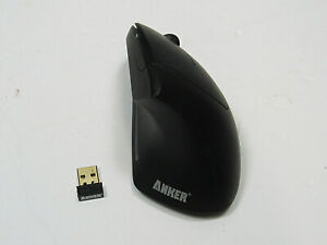 Anker 2.4G Wireless Vertical Ergonomic Optical Mouse 800/1200/1600 DPI 5 Buttons