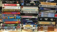 34 VHS Movies Titanic, Snow White Star Wars Super Troopers Salem's Lot & More