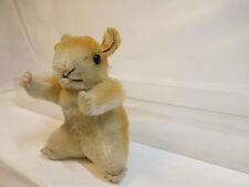 MES-52286Älterer Steiff Hamster H:ca.9cm mit Holzwollstopfung mit Knopf,