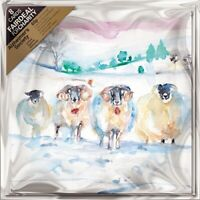 Pack of 8 Winter Sheep Alzheimer's Society Fairdeal Charity Christmas Cards