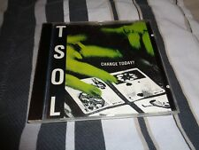 TSOL change today rare cd punk rock out of print IMPORT FROM BRAZIL