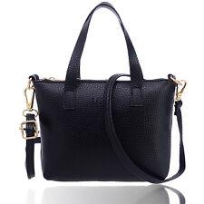 Women Leather Handbag Shoulder Crossbody Bag Satchel Tote Lady Top-Handle Bags
