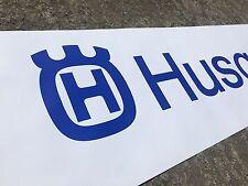 Bike  enthusiasts PVC Garage banner - HUSQVARNA