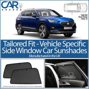 Seat Tarraco 5 Door 2018> CAR SHADES UK TAILORED UV SIDE WINDOW SUN BLINDS