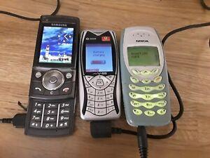 VINTAGE NOKIA ..SAMSUNG..SAGEM.. MOBILE PHONES