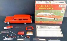 Built up Jo-Han Cadillac Ambulance 1/25 scale model kit GC 500 Lot 914