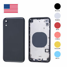 Back Glass Housing Battery Cover FrameAssembly For iPhone X XR XS 11 Pro Max OEM