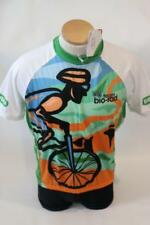 New Primal Men's Team Bio-Rad Bike Green Raglan Short Sleeve XL Cycling Jersey