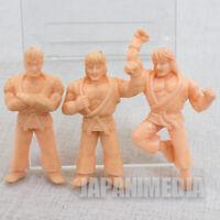 Street Fighter 2 Mini Un-painted Rubber Figure Kit Ryu Ken Set Capcom