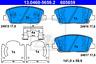 Bremsbelagsatz, Scheibenbremse für Bremsanlage Vorderachse ATE 13.0460-5659.2