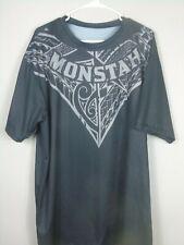 MONSTAH CLOTHING BLACK 2XL T-SHIRT