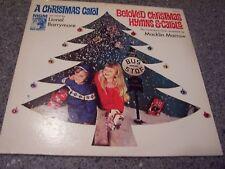 "Macklin Marrow ""Beloved Christmas Hymns & Carols"" LP LIONEL BARRYMORE"