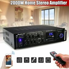 2000W HiFi Verstärker Bluetooth Stereo-Amplifier Audio Stereo Adapter Karaoke D