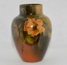 "Rookwood Cherry Blossom Vase by Caroline Steinle, 1892 (5"" Tall"