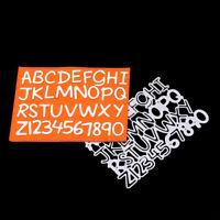 Stanzschablone Groß Buchstaben Ziffer Hochzeit Weihnachts Geburtstag Karte Album