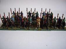 21 DIPINTI ANTICHI CINESI Han 15mm cavalleria pesante da Essex per dbmm Nebbia