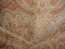 2-1/4Y Scalamandre Fr 08803273 Asha Turkish Paisley Chenille Upholstery Fabric