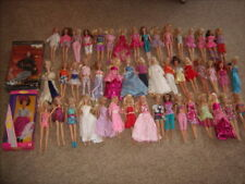 50 Barbie Doll Lot with Clothes Some New - Nice Shape