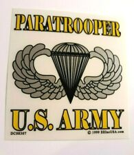 Paratrooper U. S. Army Decal