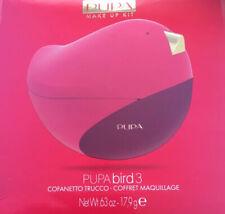 PUPA BIRD 3 TROUSSE COFANETTO MAKE UP TRUCCO OCCHI LABBRA ROSSA 012 IDEA REGALO