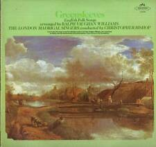 CLASSICAL LP GREENSLEEVES RALPH VAUGHAN WILLIAMS ENGLISH FOLK SONGS