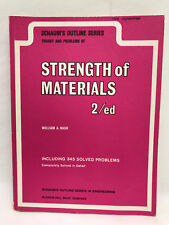 Schaum's Outline Series in Engineering Strength of Materials 2nd Edition Book