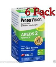 PreserVision Areds 2 Vitamin & Mineral Softgels, 60ct, 6 Pack 324208697603A1400