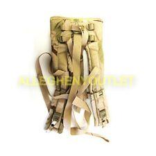 Us Military Army Molle Desert Camo Back Pack Shoulder Straps w/o Qr Straps Vgc