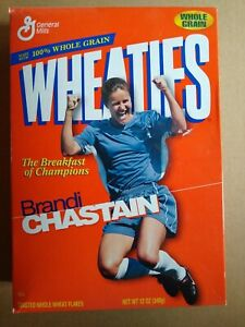 Brandi Chastain Wheaties Box - Women's WORLD CUP Soocer Team USA (unopened)
