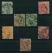 (Bad41) Württemberg 1881, Michel Nr. 214,228-230,232,234, gestempelt, MK 15,80 ?